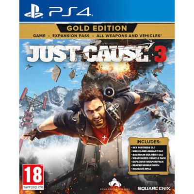 Just Cause 3 Gold Edition PS4 - Magazin Jocuri PS4 Actiune