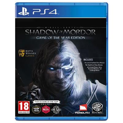 Joc Middle-earth: Shadow of Mordor - Game of The Year Edition pentru PS4