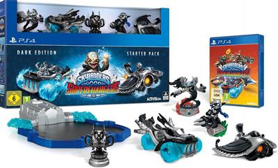 Skylanders Superchargers - Starter Pack - Dark Edition pentru PS4